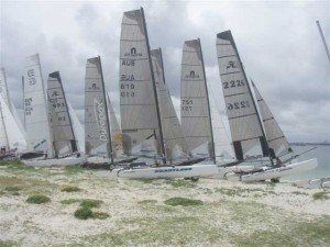Nacra Infusion wins NSW F-18 state titles